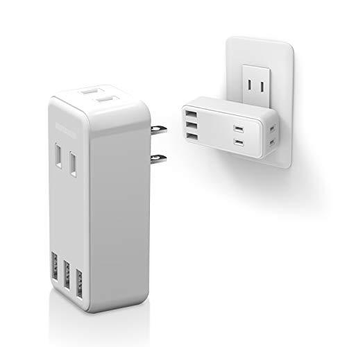 USB付き電源タップのおすすめ15選|おしゃれで便利な製品をご紹介!のサムネイル画像