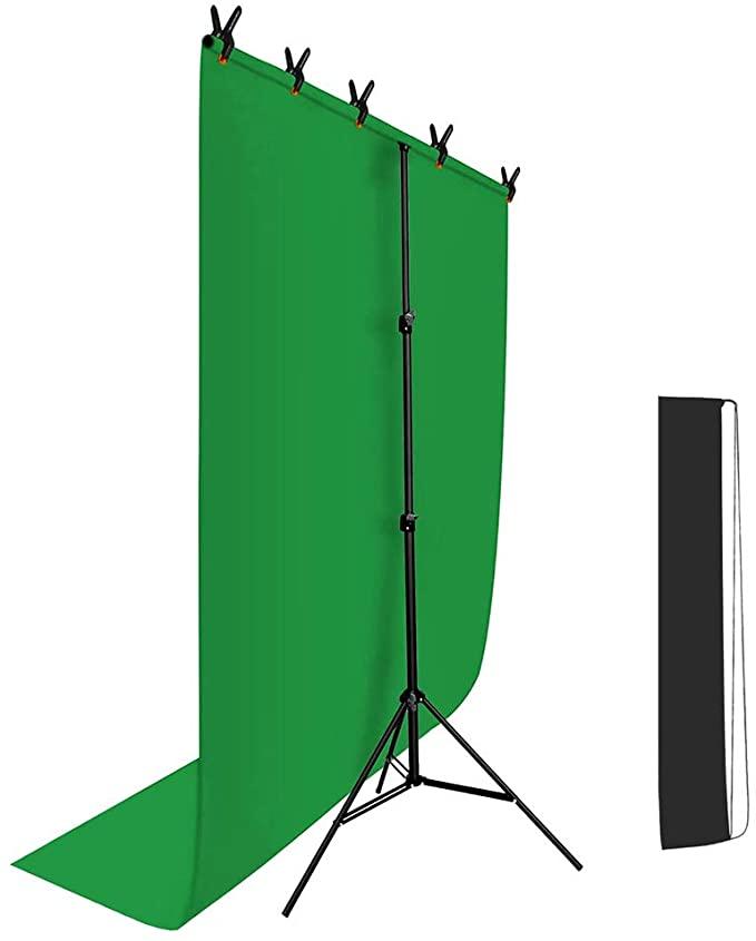 【100均の布】グリーンバックの代用・自作方法 zoom会議にのサムネイル画像