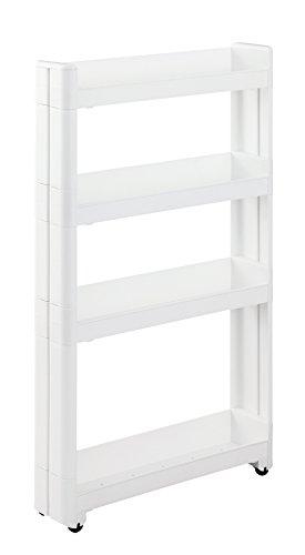 【2021版】冷蔵庫横の隙間収納20選|何を入れる?シンク横を賢く活用!のサムネイル画像