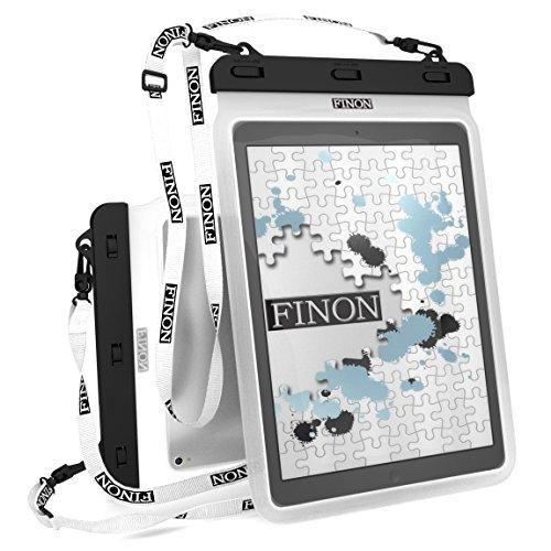 【セリア・ダイソー】100均のタブレット・iPad用防水ケースってどう?のサムネイル画像